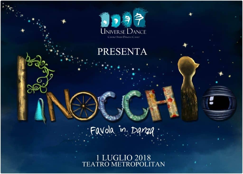 spettacolo di danza a catania Pinocchio favola in danza Universe Dance