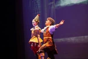 scuola di danza universe dance catania Spettacolo Pinocchio favola in danza 1