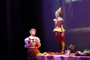 scuola di danza universe dance catania Spettacolo Pinocchio favola in danza
